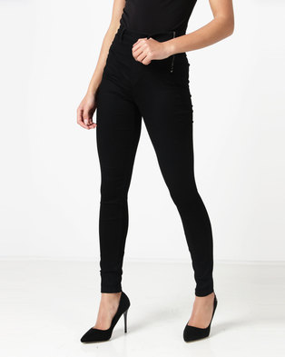 Sissy Boy Franke High Rise Shaper Jeggings Black