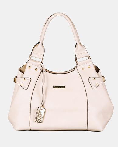 Blackcherry Bag Simple Handbag Warm Beige