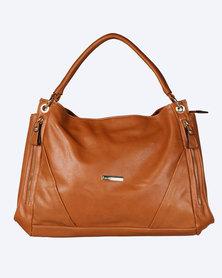 Blackcherry Bag Double Strapped Handbag Tan