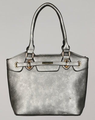Blackcherry Bag Classic Handbag Grey