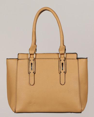 Blackcherry Bag Handbag Brown Caramel