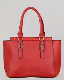 Blackcherry Bag Handbag Ruby Red