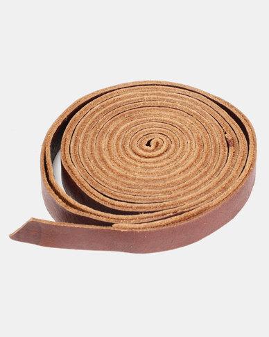 non-european® Skinny Wrap Belt Tan