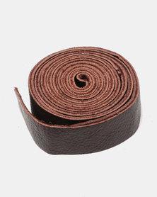 non-european® Wrap Belt Dark Brown