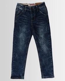 Soviet Boys Heath Skinny Jeans Blue