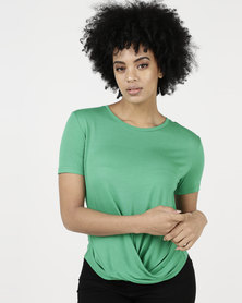 Paige Smith Knot T-Shirt Green
