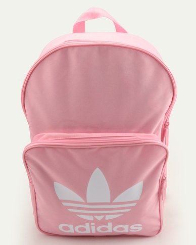 adidas Originals Classic Trefoil Backpack Light Pink  c7a19335279b7
