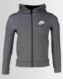 Nike AV15 FZ Hoodie Charcoal Heather