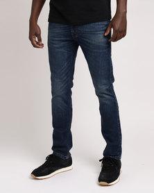 Lee Detroit Jeans - Indigo Stretch Worn