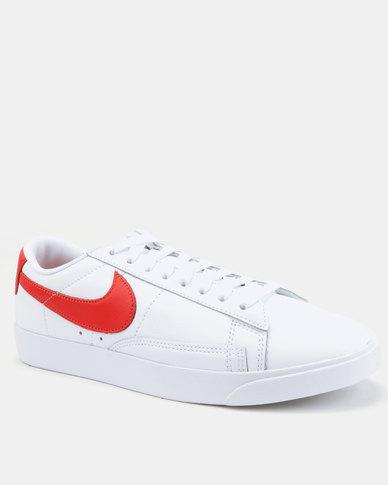 san francisco fbab4 55538 ... ebay 17 nike blazer low le sneaker white habanero red bdc5a e01dd