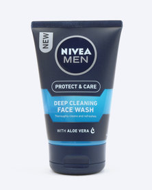 Nivea For Men Protect & Care Deep Cleaning Face Wash 100ml