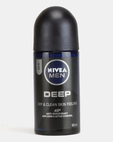 Nivea Men Deep Roll On 50ml
