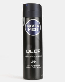 Nivea Men Deep Aero Spray 150ml