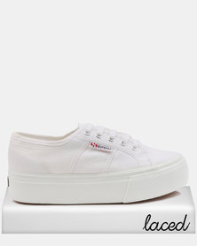 Superga Classic Full Wedge Sneakers White