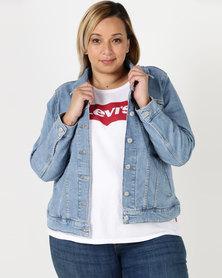 Levi's ® Plus Original Trucker Jacket Blue