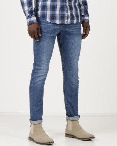 46eda966ffe Levi's ® 510™ Skinny Fit Jeans Mid Blue Light | Zando
