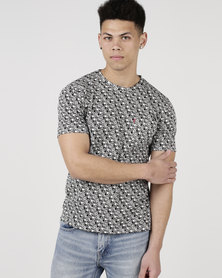 Levi's ® Classic Pocket Tee Moose Dark Phantom Multi