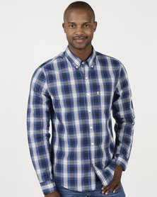 Levi's ® Classic One Pocket Shirt Rabbit Galaxy Blue Plaid