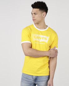 Levi's ® Ringer Housemark Tee Spectra Yellow