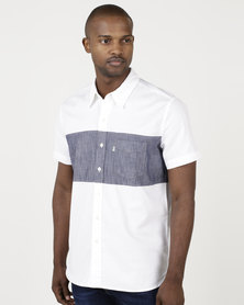 Levi's ® Pieced Sunset One Pocket Shirt White