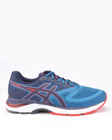 73954407a8 Asics Performance Gel-Pulse 10 Running Shoes Race Blue Deep Ocean ...