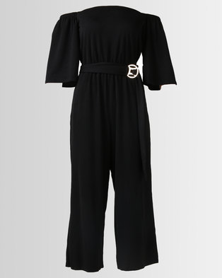 e9152b4d4458 City Goddess London Bardot Culotte Jumpsuit .