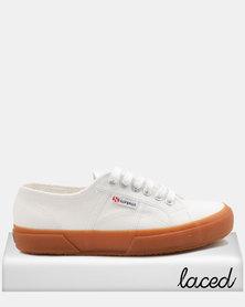 Superga Classic Canvas Shoes White/Gum