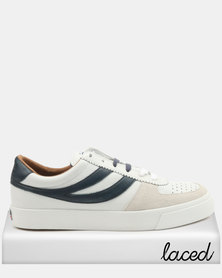 Superga Seattle Leather 923 Sneakers White/Blue