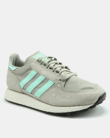 fcc6378208 adidas Originals Forest Grove W Sneakers Sesame / Cloud White / Core Black  | Zando