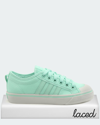 a0848886d54 adidas Originals Nizza W Sneakers Clear Mint  Clear Mint  Crystal White