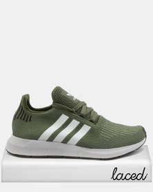 adidas Originals Swift Run W Sneakers Base Green / Ftwr White / Core Black