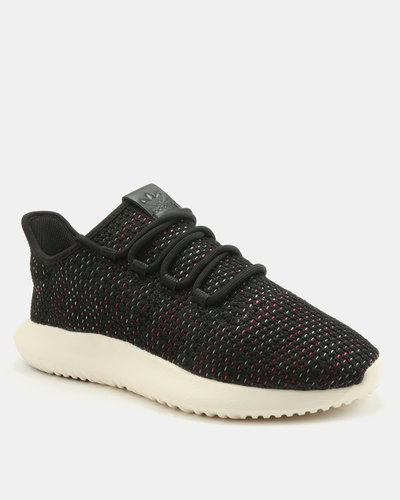 meet dc59f 9aa90 adidas Tubular Shadow Womens Sneakers Core Black/Off White ...