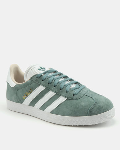 adidas gazelle raw green