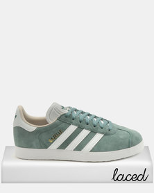 adidas Originals Gazelle Sneakers W Raw Green / FTWR White / Linen