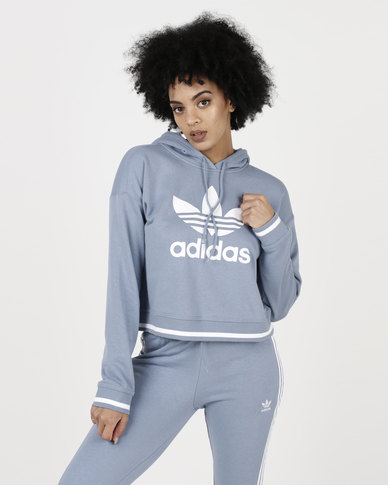 adidas Originals Active Icons Hoodie Raw Grey