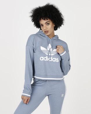 adidas Originals Active Icons Hoodie Raw Grey