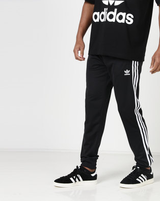 adidas Originals Mens SST Trackpants Black White a62707946a97e