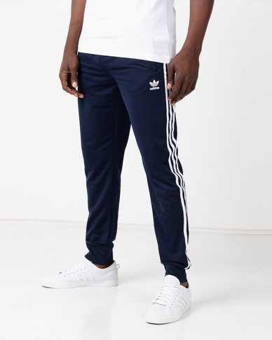 b0086e91a851 adidas Originals Mens SST Track Pants Blue