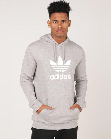 adidas Originals Trefoil Warm- Up Hoodie Grey