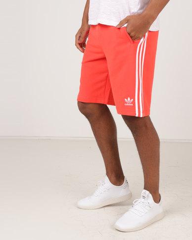adidas three stripe shorts mens