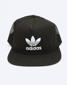 adidas Originals Trefoil Trucker Cap Black