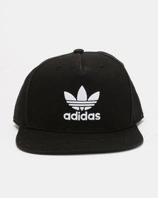 4cb9fec1ce3 adidas Originals Trefoil Trucker Cap Black