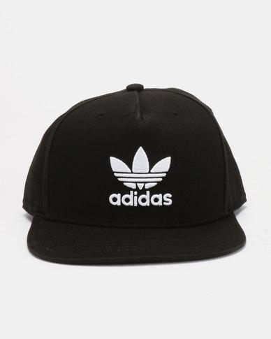 a507b3cce074dc adidas Originals Trefoil Snapback Cap Black | Zando