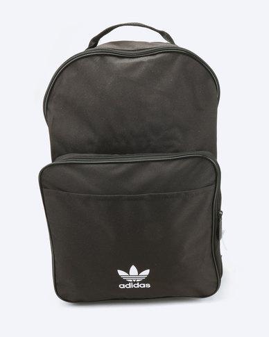 adidas Originals Backpack Classic Trefoil Black  c66fc3b12a10