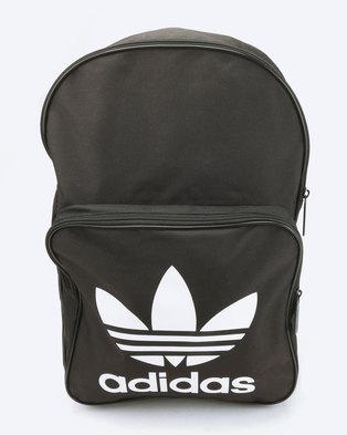 adidas Originals Backpack Classic Trefoil Black 7fc8cfdc0dc52