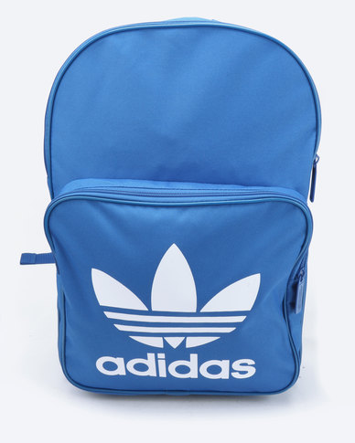 65458e7832 adidas Original Backpack Classic Trefoil Blue