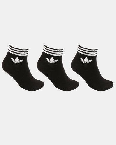 Trefoil Ankle Stripes 3pk