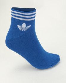adidas Originals Trefoil Ankle Stripes 3pk Socks Multi