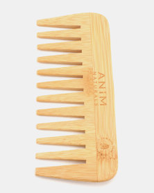 Anim Wide Tooth Bamboo Comb