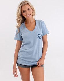 Fox Finishline V Neck T Shirt